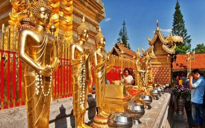 (素貼寺) Wat phra that Doi suthep